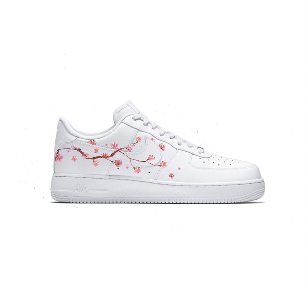 air force 1 femme blanche cherry