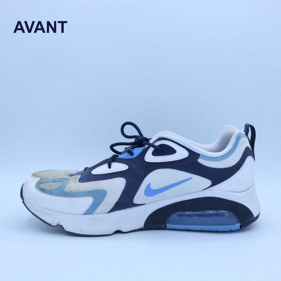 Avant nettoyage sneakers