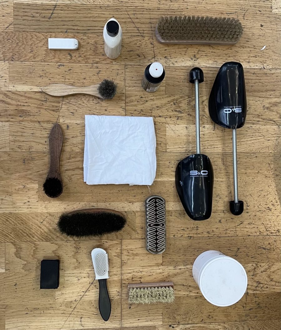 Outils brosse savon nettoyage basket