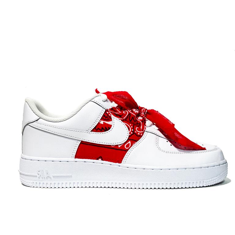 Air Force 1 red bandana